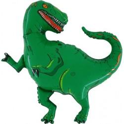 Ballon aluminium dinosaure