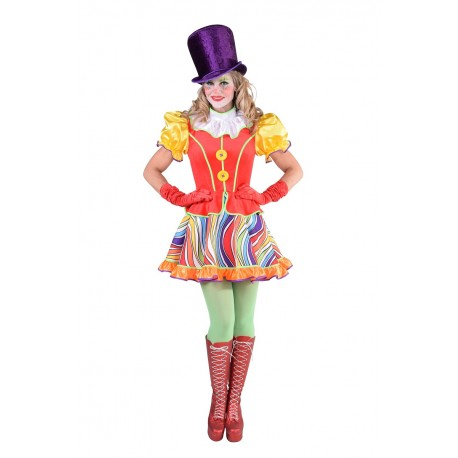 Clown fille