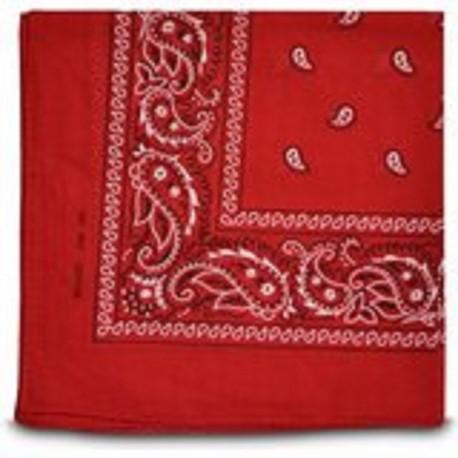 Foulard rouge de cow boy