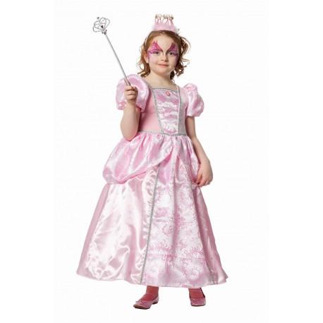 Princesse rose enfant