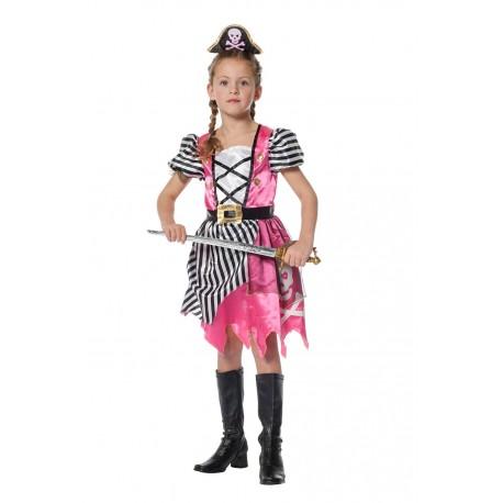 Pirate fille rose