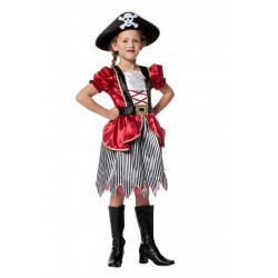 pirate fille bordeaux