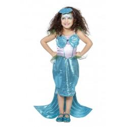 Sirène avec diadème