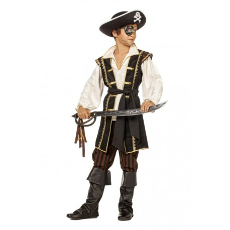 Pirate brun garçon