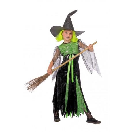 sorcière verte enfant