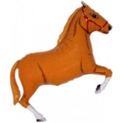 Ballon cheval brun clair
