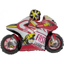 Ballon moto gp rouge