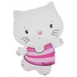 Ballon hello kitty blanc
