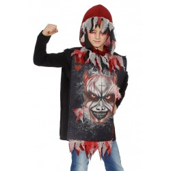 veste + capuche horreur