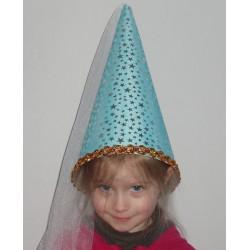 Chapeau de fée bleu enfant