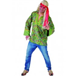 Hippie homme vert