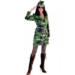 Costume militaire femme