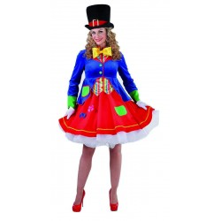 Clown dame luxe