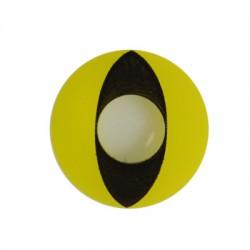Lentilles chat jaune et noir 12 mois