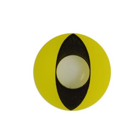 Lentilles chat jaune et noir