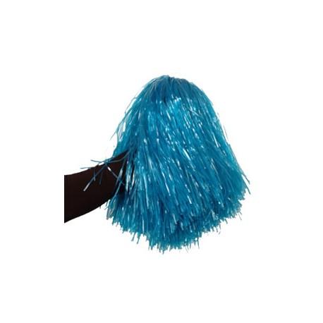 Pom- pom girl bleu