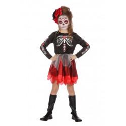 Sorcière squelette sorcière