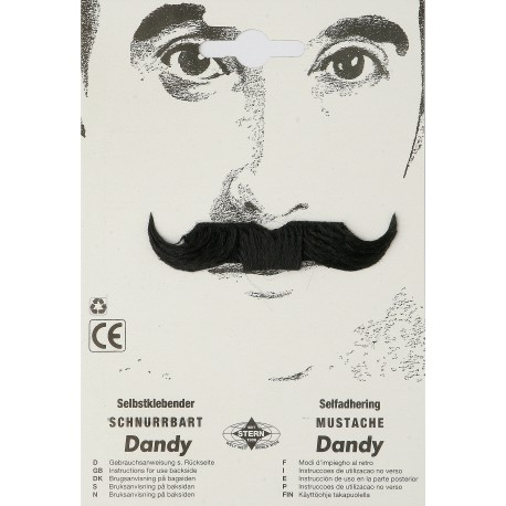 Moustache dandy