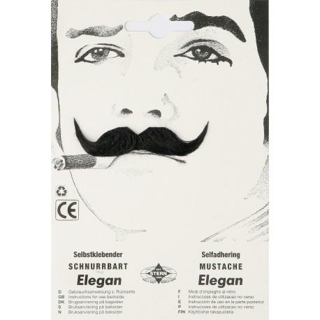 Moustache élégan