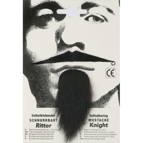 Moustache knight