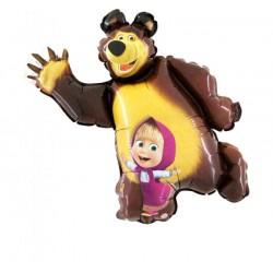 Masha et l'ours aluminum