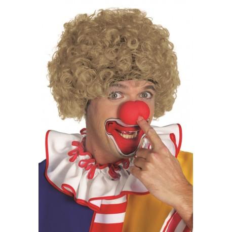 Perruque clown noir