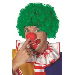 Perruque clown verte