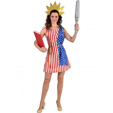 Robe Amerique statue liberté