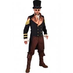 Steampunk homme noir