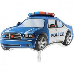 Ballon aluminium police