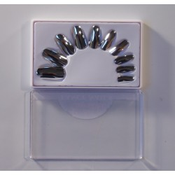 Faux ongles argent