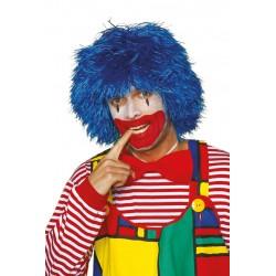 Perruque clown frisé rouge