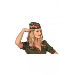 Chapeau militaire fille
