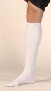 prix de gros où puis je acheter pas cher pour réduction Haute chaussette blanche - Le Cotillon