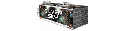 Batterie artifice silver sky