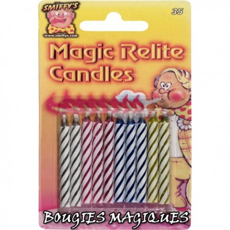 Bougies magiques
