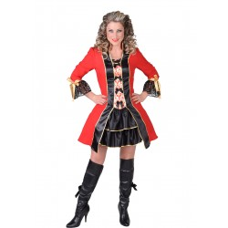 Pirate rouge femme