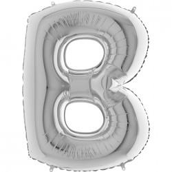 Lettre aluminium 102 cm B