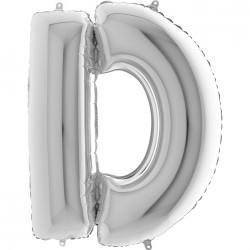 Lettre aluminium 102 cm D