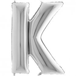Lettre aluminium 102 cm K