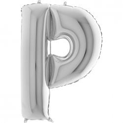 Lettre aluminium 102 cm P