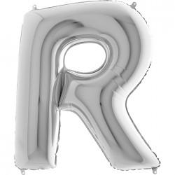Lettre aluminium 102 cm R