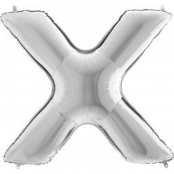Lettre aluminium 102 cm X