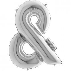 Lettre aluminium 102 cm &