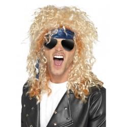 Perruque rockeur