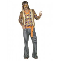 Chanteur hippie