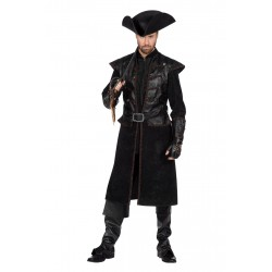 Manteau pirate homme