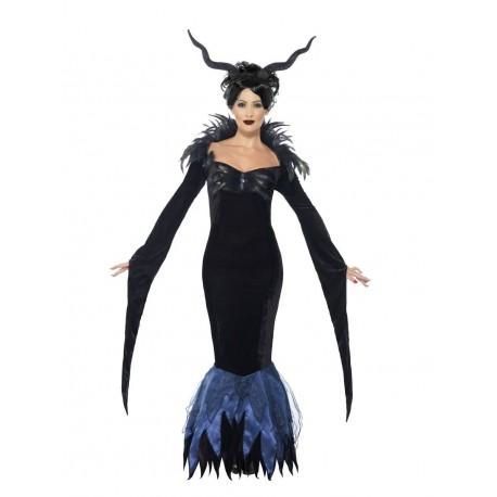 Corbeau femme sorcière