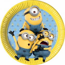 Assiettes minion