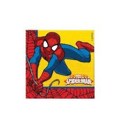 Serviettes spiderman